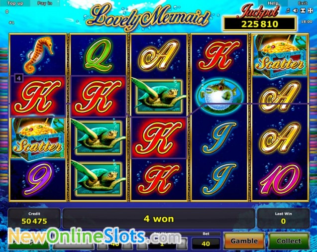 Play Lovely Mermaid for free Online | OVO Casino