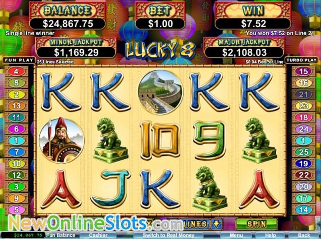 Lucky 8 Slot Machine Online ᐈ RTG™ Casino Slots
