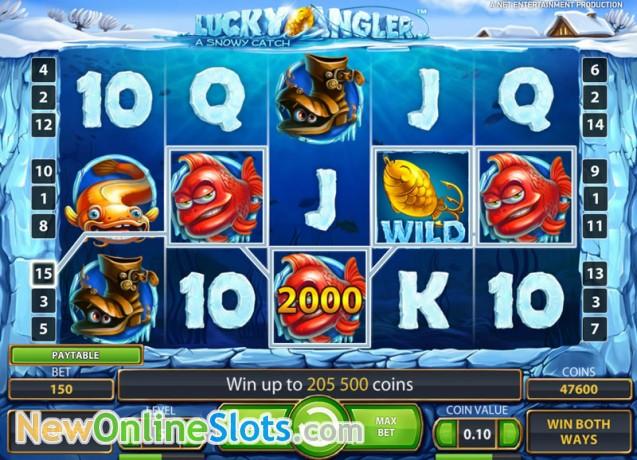 lucky angler - a snowy catch casino
