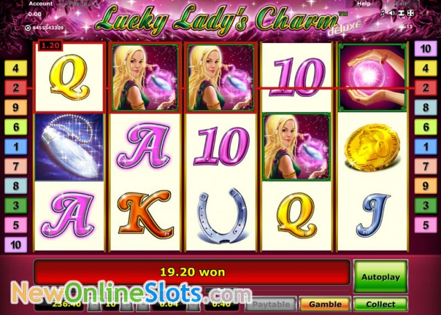 slot games free online lucky ladys charm
