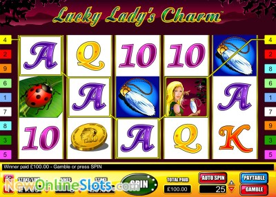 Lucky Lady's Charm slot by Novomatic image #1