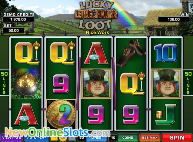 Lucky Leprechauns Loot Slots Review & Free Online Demo Game