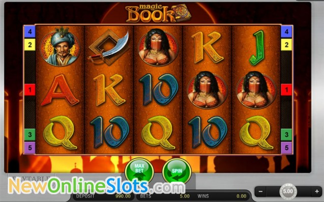 de online slots book of magic