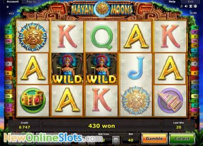 video slots online maya symbole