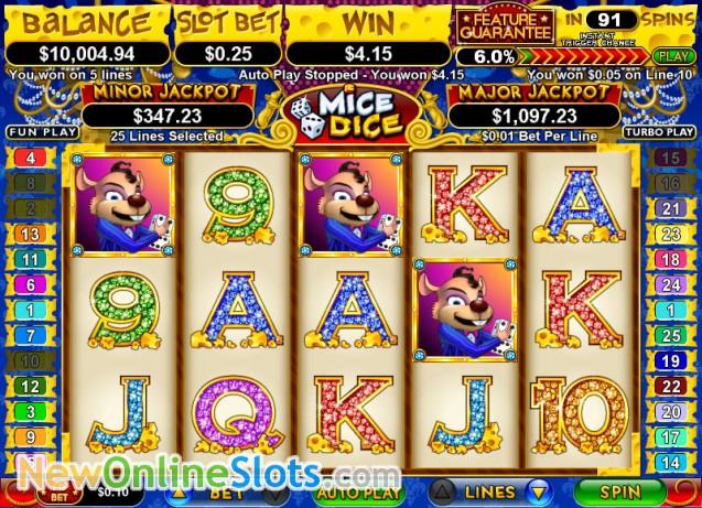 casino online slot machines dice online