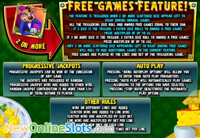 online casino jackpot dice roll online