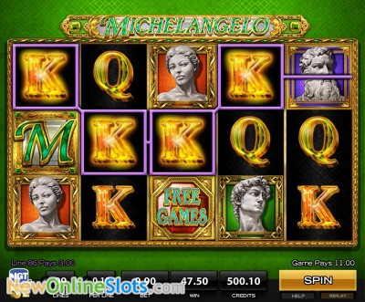 Michelangelo slot by High 5 Games image #1