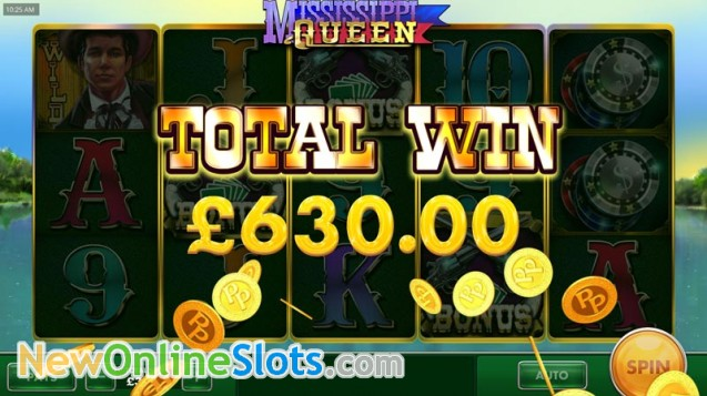 Mississippi Queen Slot - Play Cayetano Slots for Free