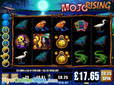 Mojo Rising slot by WMS image #1