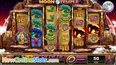 Moon Temple slot by Lightning Box image #1