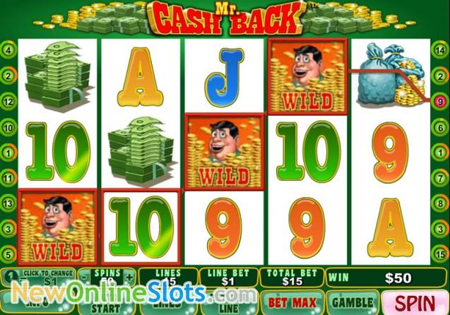 slots online cashback scene
