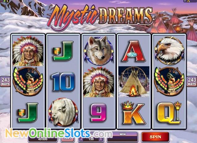 Mystic Dreams Slot Machine Online ᐈ Microgaming™ Casino Slots