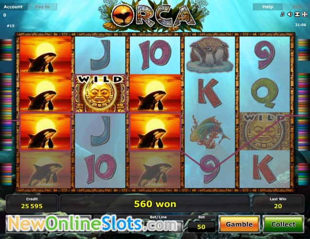 Play Orca for free Online | OVO Casino