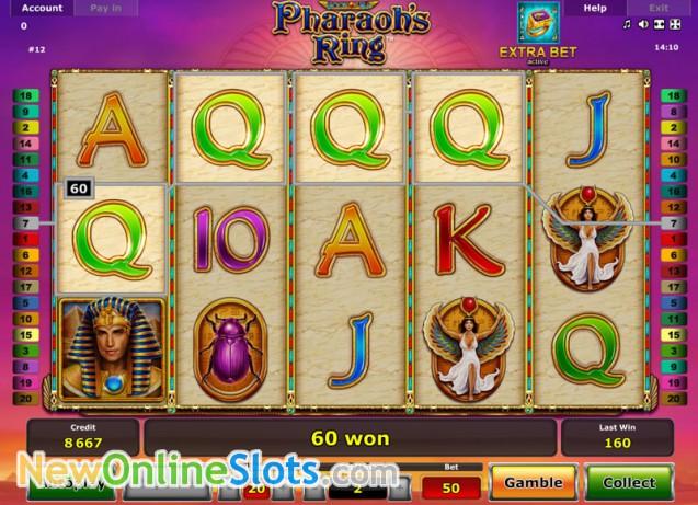 book of ra pharaohs ring
