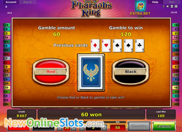 Pharaohs Ring - Casumo Casino