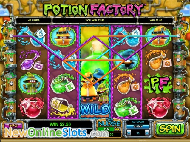 Potion Factory™ Slot Machine Game to Play Free in Leander Gamess Online Casinos