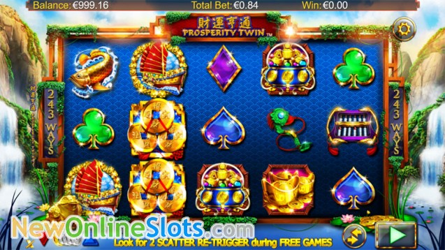Prosperity Twin Slot - Play this Video Slot Online