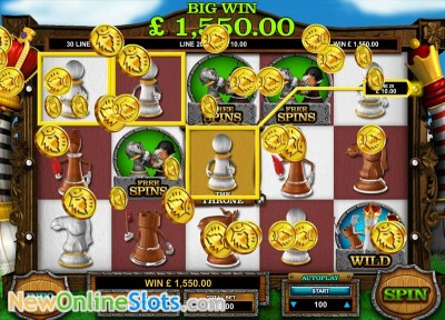 Queen of Thrones slot by Leander Games image #1