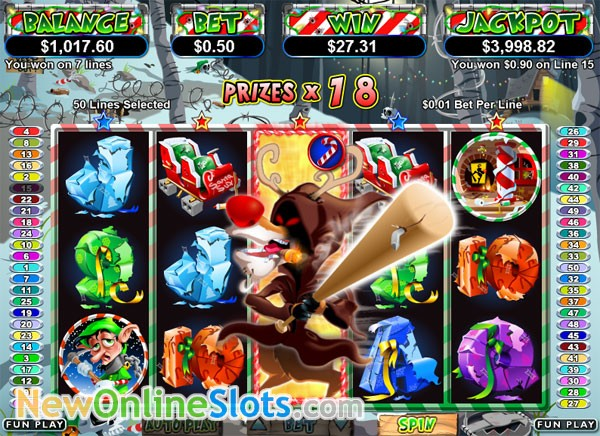 Return of the Rudolph Slot Machine Online ᐈ RTG™ Casino Slots