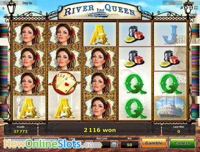 online slot games for money river queen