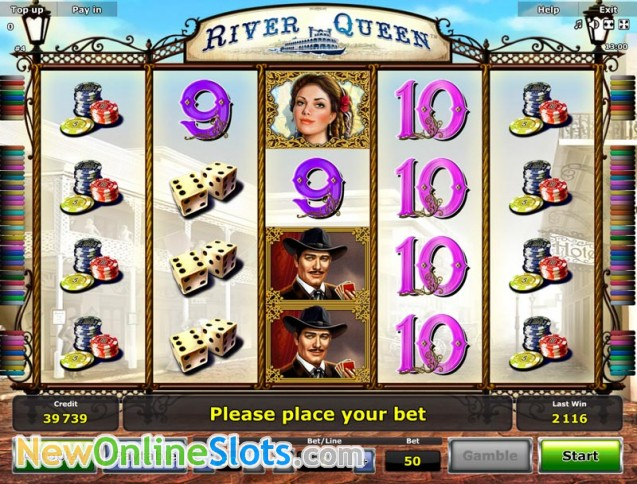 online slots river queen