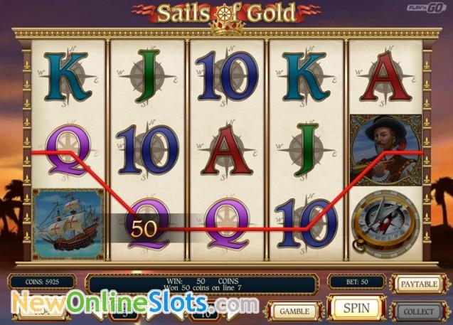 Sails of Gold Slot - Play n Go Casino - Rizk Deutschland Casino