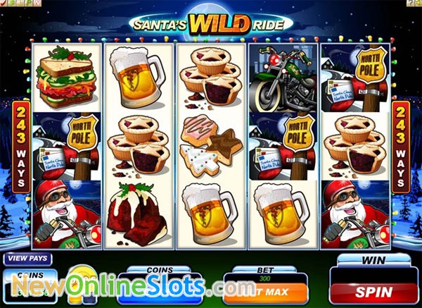 Santas Wild Ride Slot Machine Online ᐈ Microgaming™ Casino Slots