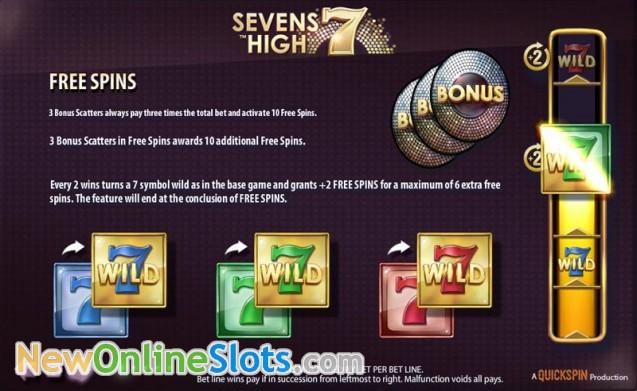 Sevens High Slot - QuickSpin Slots - Rizk Online Casino Deutschland