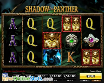 Shadow of the Panther slot by High 5 Games image #1