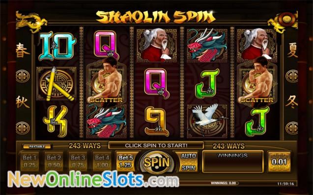 Shaolin Spin Slot Machine - Play Free Casino Slots Online
