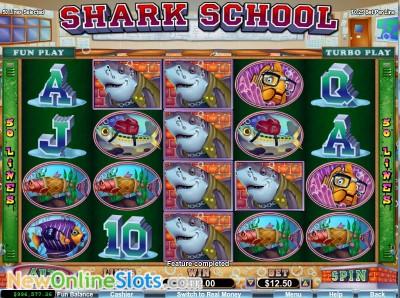 Shark School slot by RTG image #1