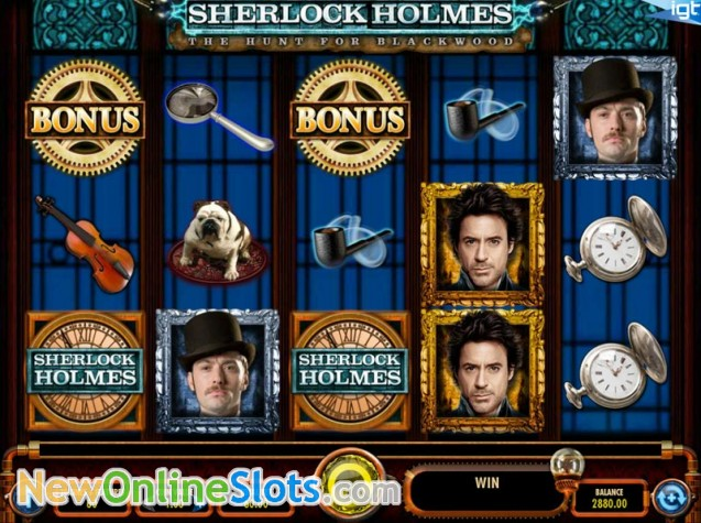 Sherlock Holmes And The Hunt For Blackwood Online Automat - Rizk Casino
