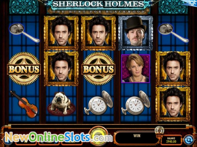 Sherlock Holmes And The Hunt For Blackwood Slot - Rizk Casino Sverige