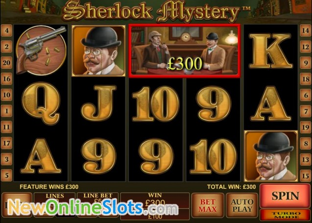 Play Sherlock Mystery Slots Online at Casino.com NZ