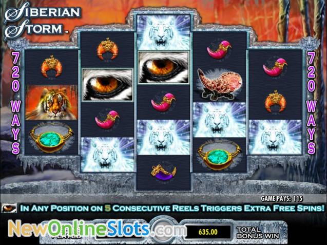 Siberian Storm - Rizk Casino