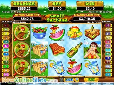 Small Fortune slot by RTG image #1