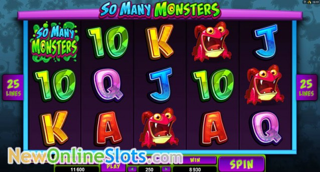 So Many Monsters Slot Machine Online ᐈ Microgaming™ Casino Slots