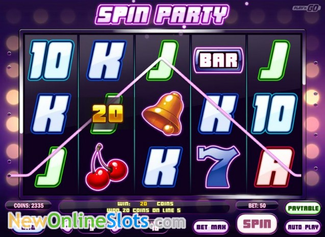 Spin Party Online Slot - Play N Go - Rizk Online Casino Sverige