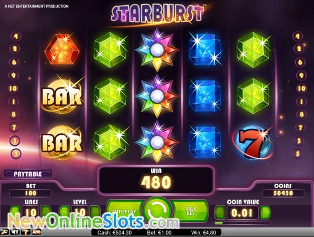 Starburst Online Slot - NetEnt - Rizk Online Casino Sverige