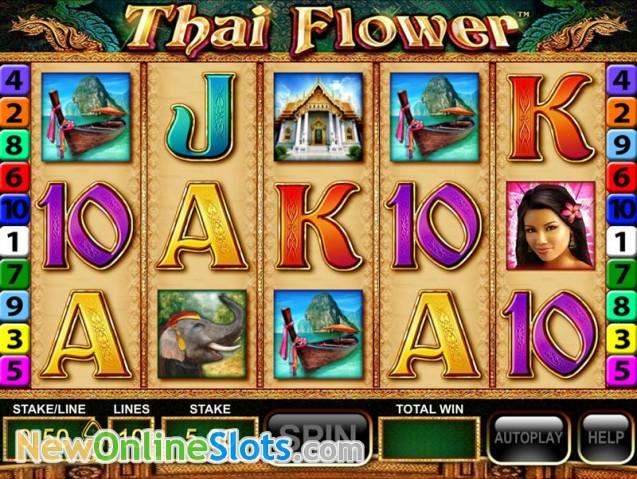 Play thai flower slot online