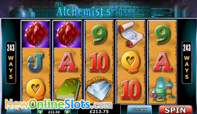 Play The Alchemist's Spell Online Slots at Casino.com NZ