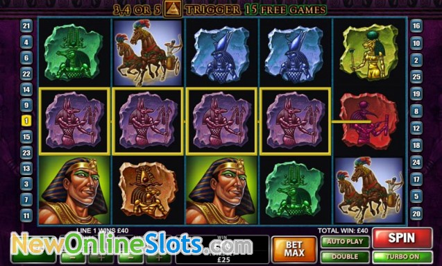 Play The Pyramid of Ramesses Online Slots at Casino.com Canada