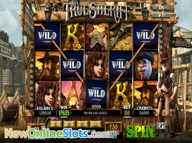 True Sheriff Slots - Play the True Sheriff Slot Online