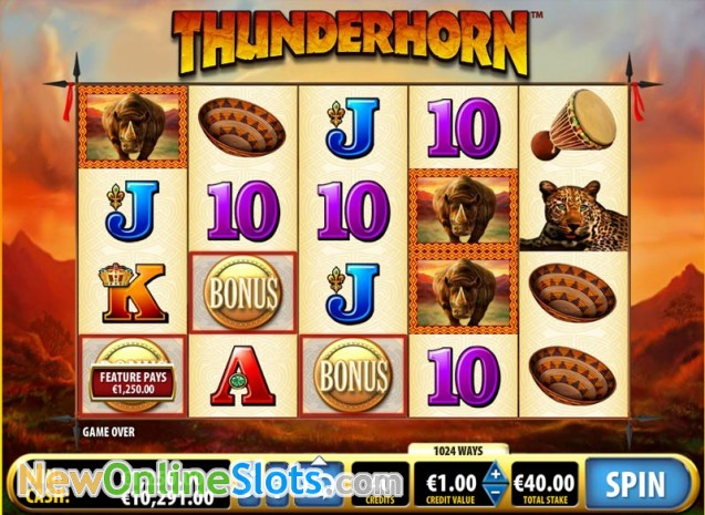 Thunderhorn Slots
