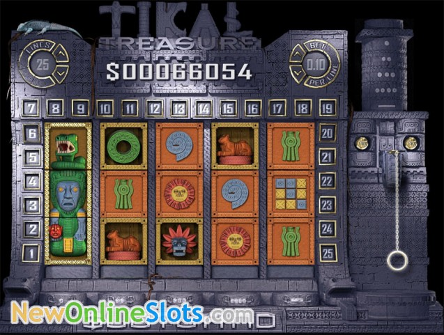 Tikal Treasure Slots - Free Online Slotland Slot Machine Game