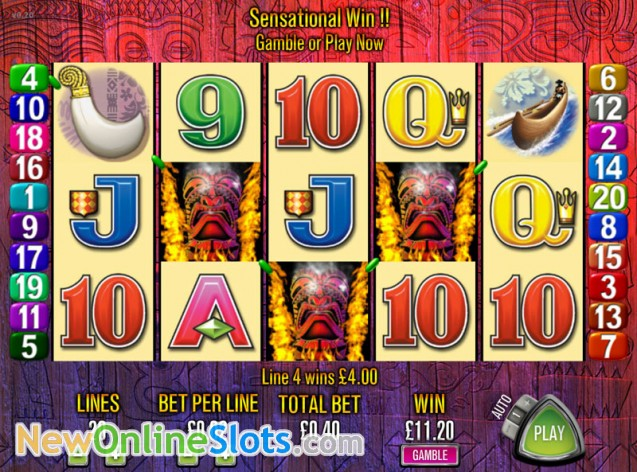 elements the awakening casino slots