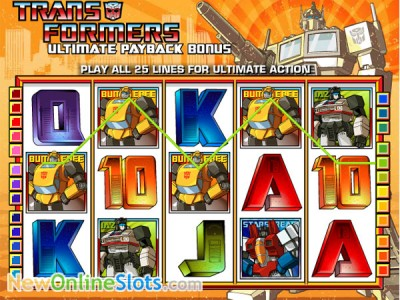 Transformers slot by IGT image #1
