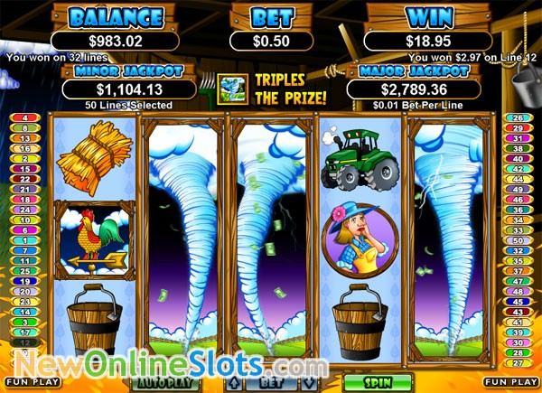 Triple Twister Slot Machine by RTG – Play Online for Free