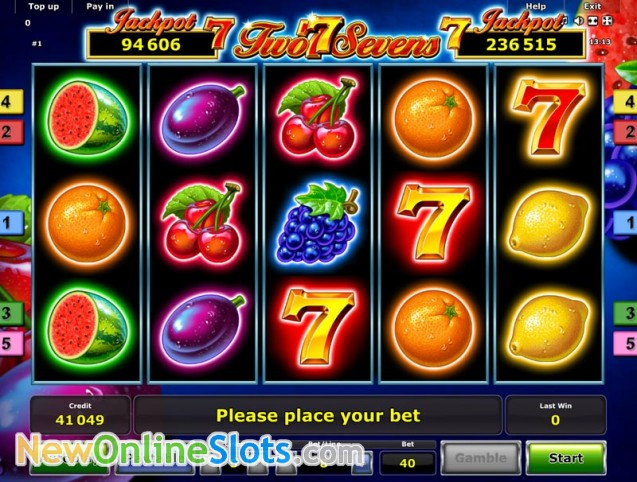 Play Fruits n Sevens Deluxe Slot Game Online | OVO Casino