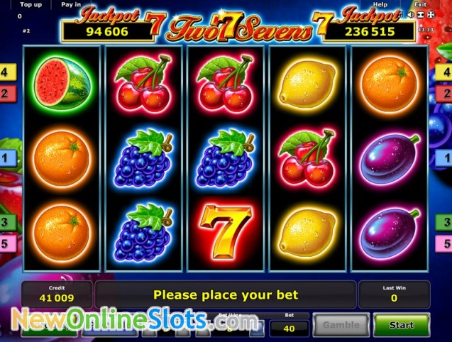 Play Golden Sevens Slot Game Online | OVO Casino